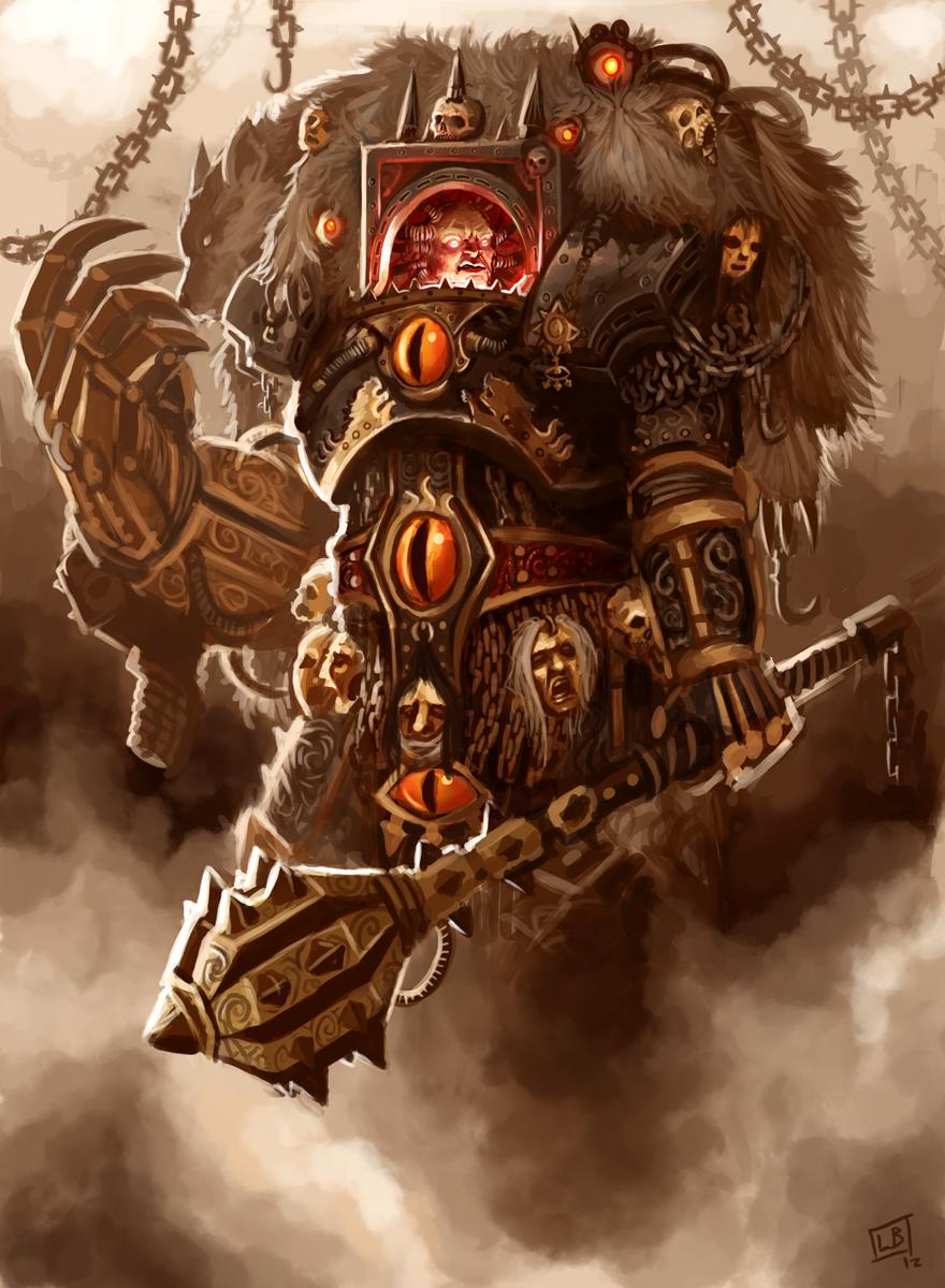 The Warmaster Horus by Vanagandr