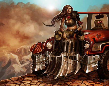 Post Apocalyptic Pinup