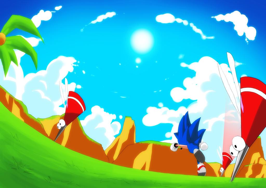 Sonic Boom by ZeroV5