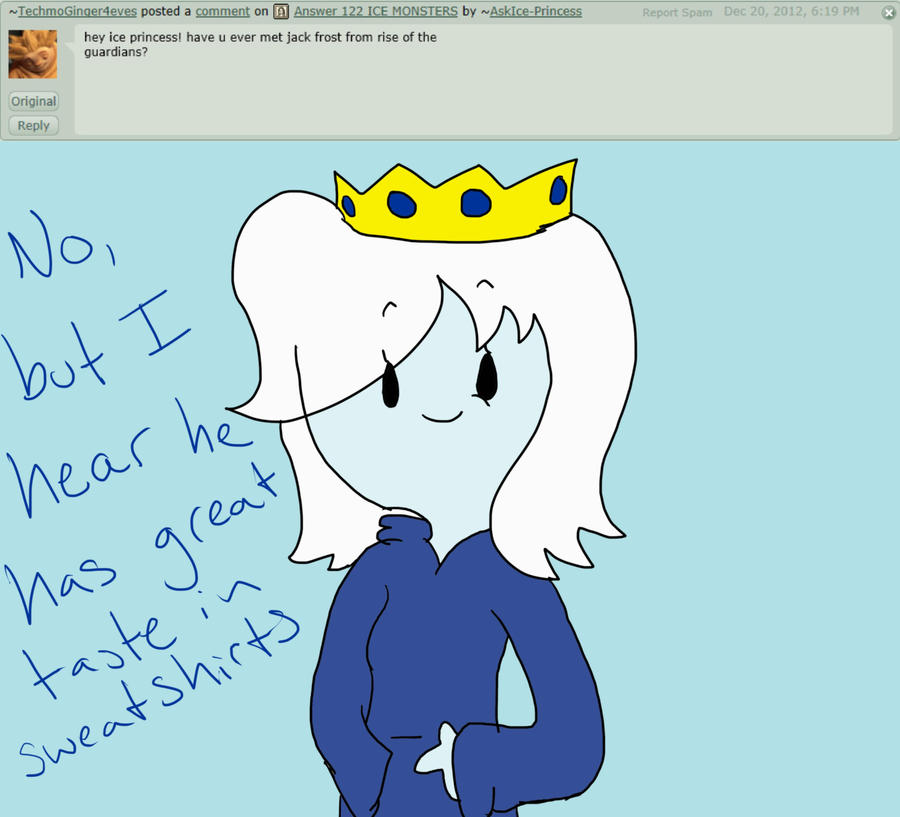 answer 126 JACK FROST by AskIce-Princess
