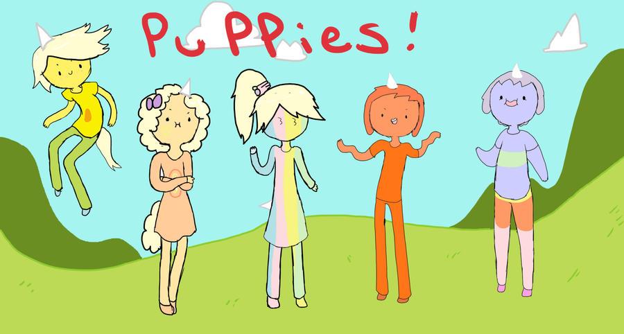 Human Pups by AskIce-Princess