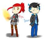 Niya And Drew Fanart
