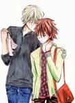 Usagi and Misaki: Ittekimasu, Itterasshai!