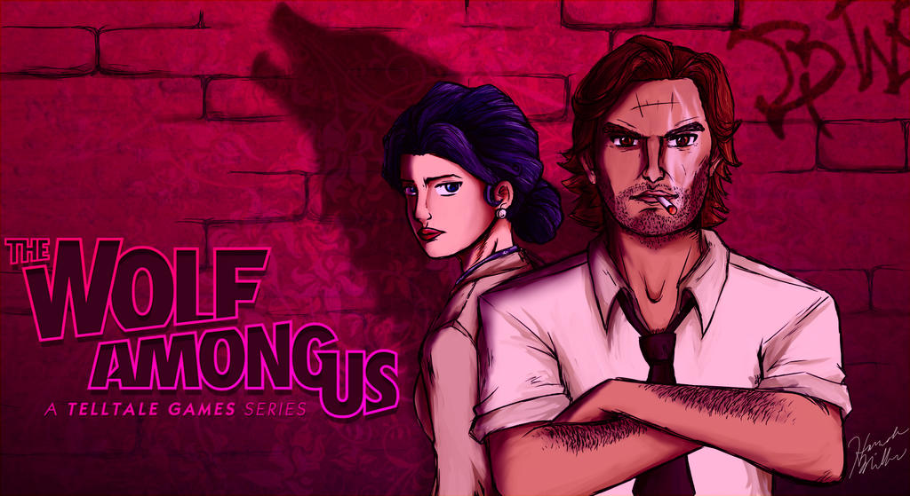 The Wolf Among Us Wallpaper By Trixuqueen