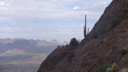 Superstition Mountain View by SmileTheRider