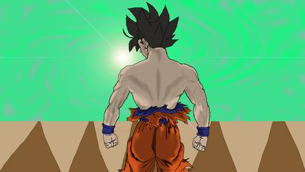 Ultra Instinct Goku (Omen) by SmileTheRider