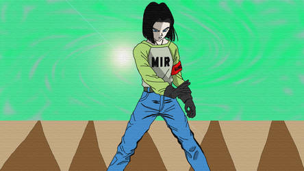 Android 17 by SmileTheRider
