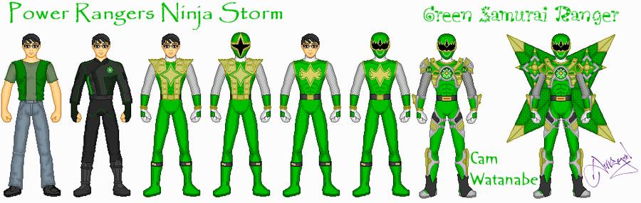 Green Samurai by Ameyal