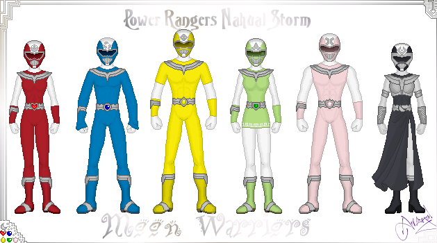 Power Rangers Nahual Moon by Ameyal