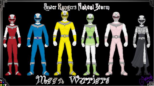 Power Rangers Nahual Moon by Ameyal