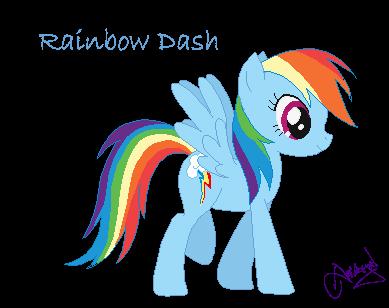 Rainbow Dash By Ameyal On DeviantArt