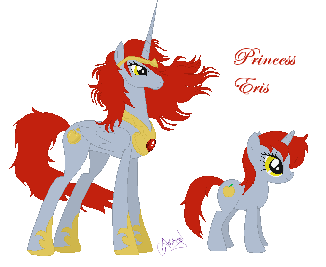 Princess Eris by Ameyal