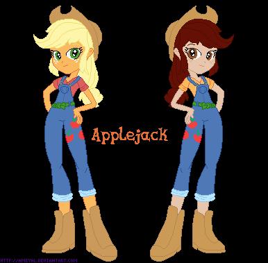 Eq Girl Applejack by Ameyal
