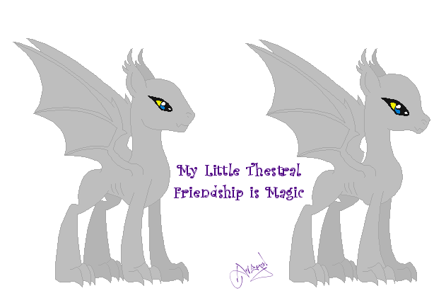 My Little Thestral by Ameyal
