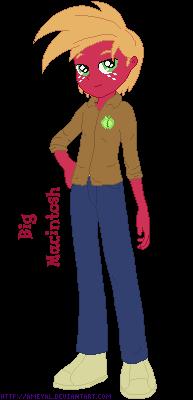 Eq Boy Big Macintosh by Ameyal