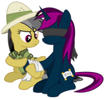 Be careful next time! - Daring Do and Vanisher