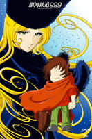 Galaxy Express 999 by daikikun75