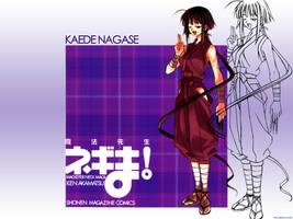 Magister Negi - Kaede Nagase by preyx