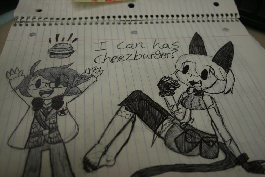 Can I haz cheezburger? by blair-raspberryl