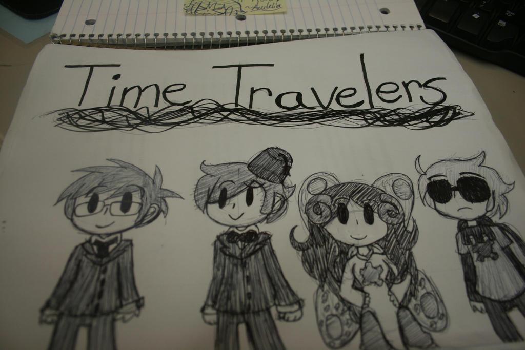 Time Travelers by blair-raspberryl