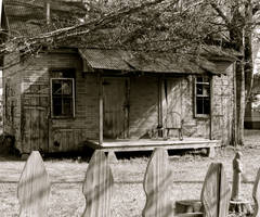 abandoned cajun home by DramaQueenB
