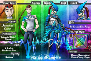 Starlight Rangers - Lume the Cerulean Skies Ranger