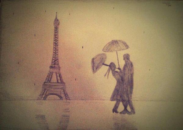 Romance in Paris by Zilfana-9