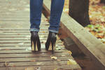 Again heels