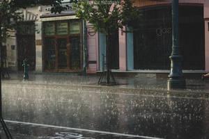 Rain and sun by Lilplague