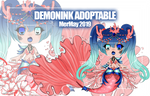 DemonInk Adoptable #22 - Auction [OPEN] by ChairaeAdopts