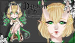 Original DemonInk #32 - Auction [OPEN] by ChairaeAdopts