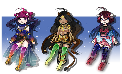 (CLOSED) SP Gleamstic - Guest Artist Designs by ChairaeAdopts