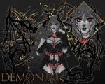 (CLOSED) DemonInk Adoptable #90 - Auction