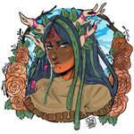 PA: Amaryllis - Semiflat Floral portrait