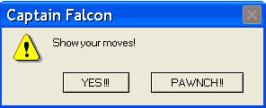 Captain Falcon Error