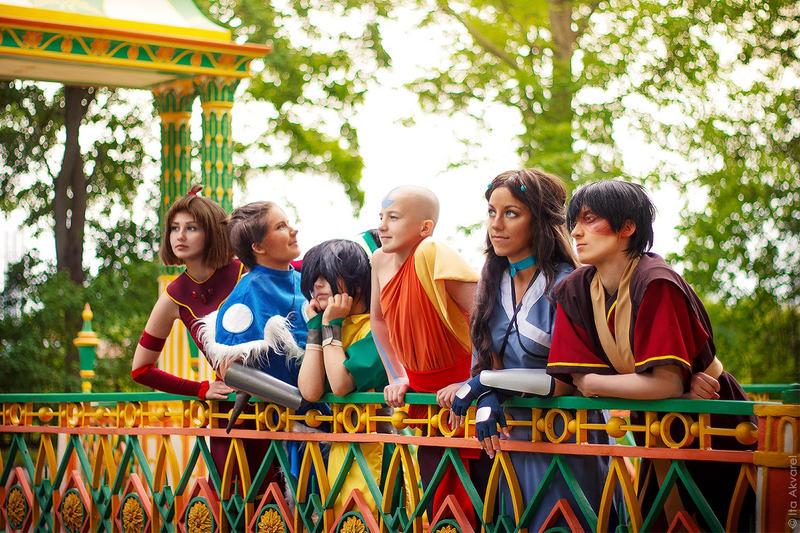 Avatar:TLA - Gaang by Trisha-tyan