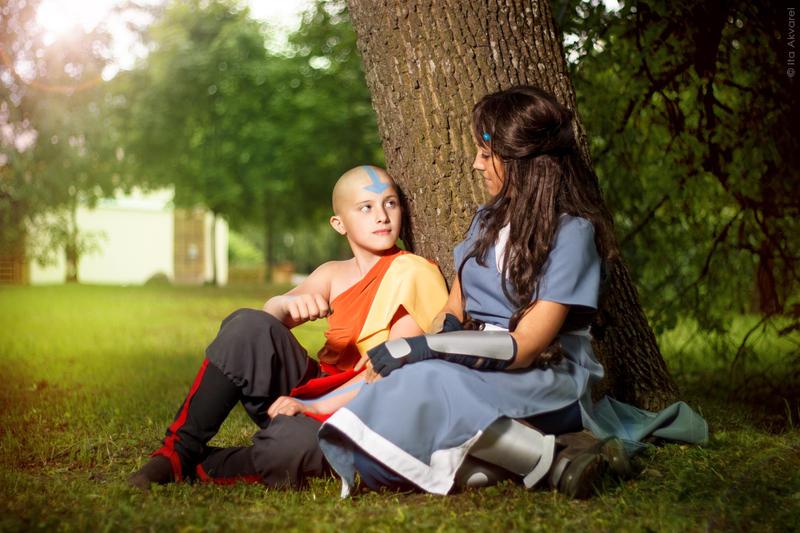 Avatar:TLA - Little talk by Trisha-tyan