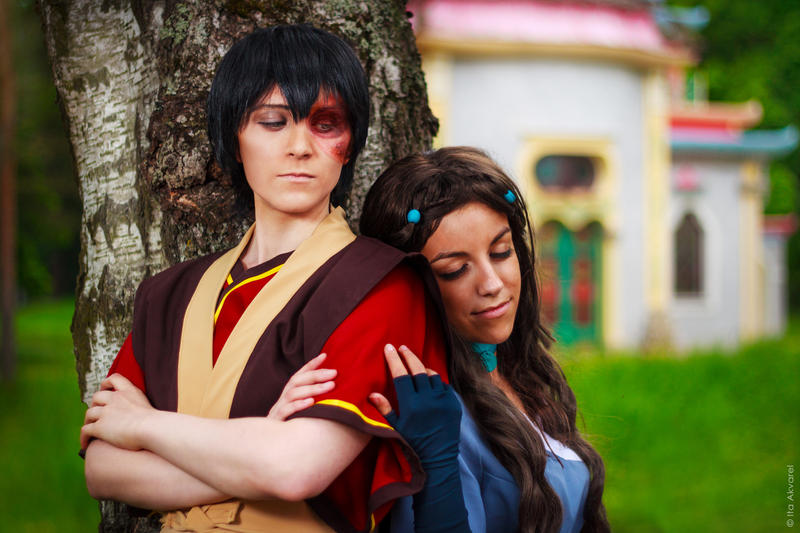Avatar:TLA - Moment of peace by Trisha-tyan