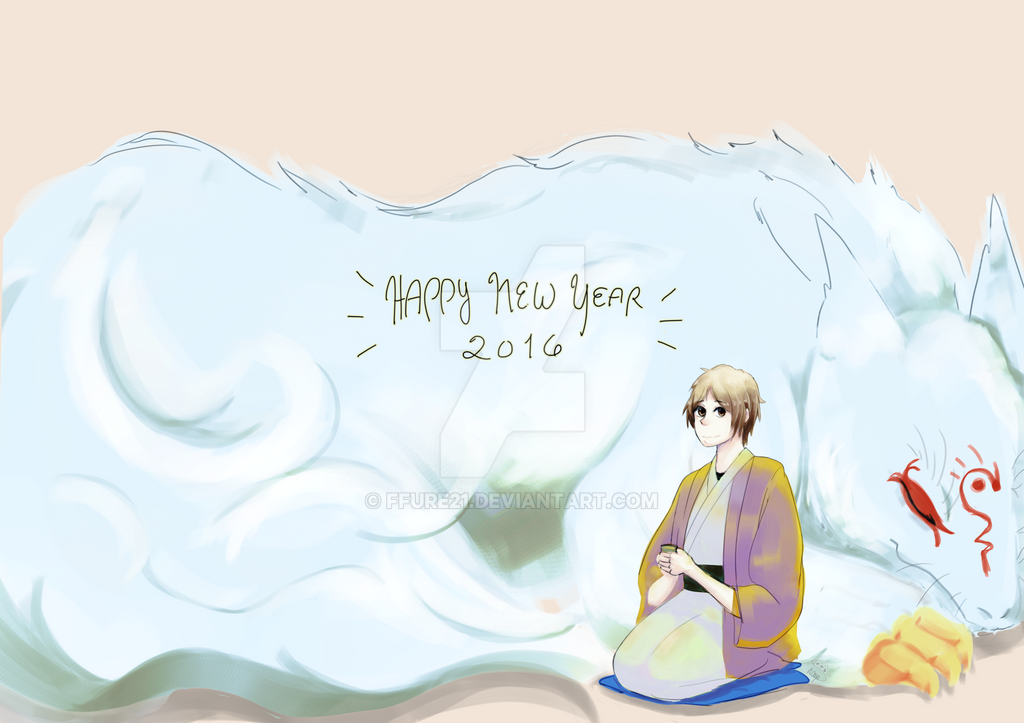 ~Happy New Year!! Welcome to 2016~ by ffure21