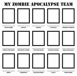 Zombie Apocalypse Team Template
