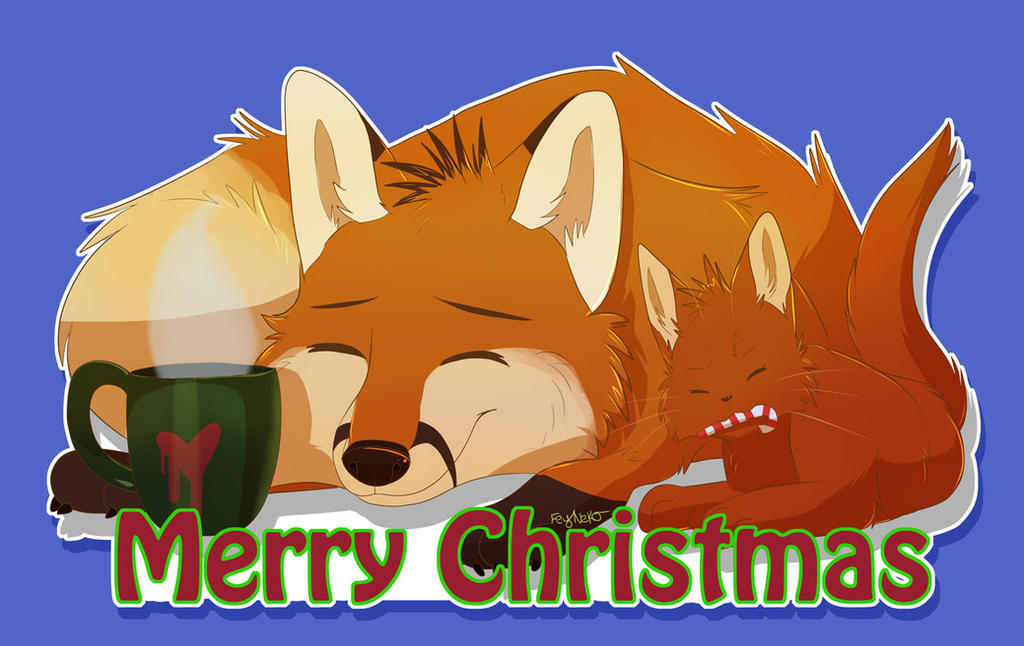 Merry Christmas! by FeyNeko