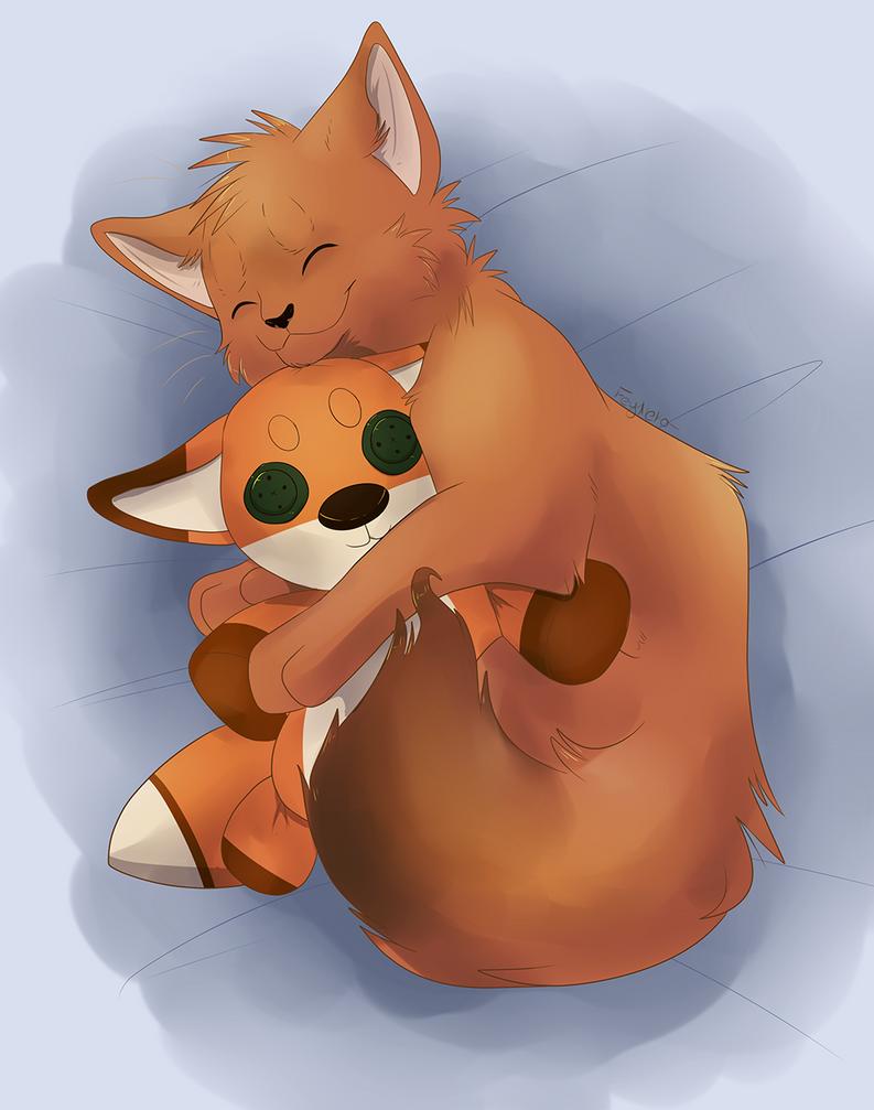 Cuddle Buddies by FeyNeko