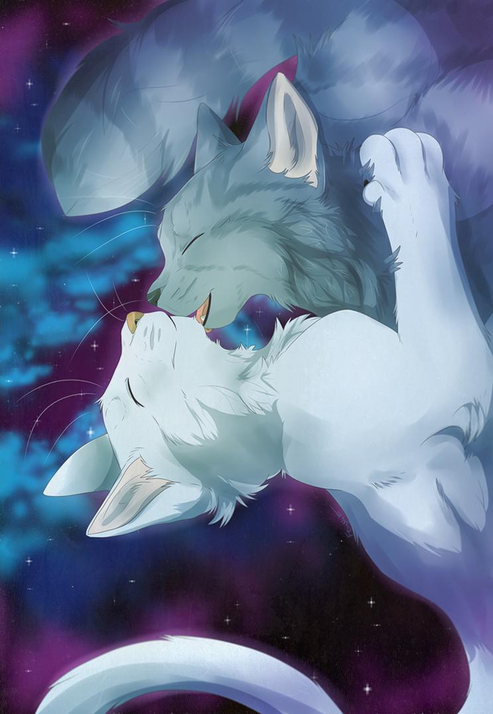 Love ya to the (half) moon and back by FeyNeko