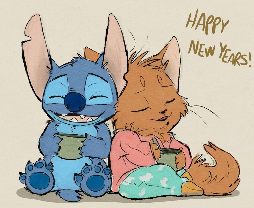 Happy new years by FeyNeko