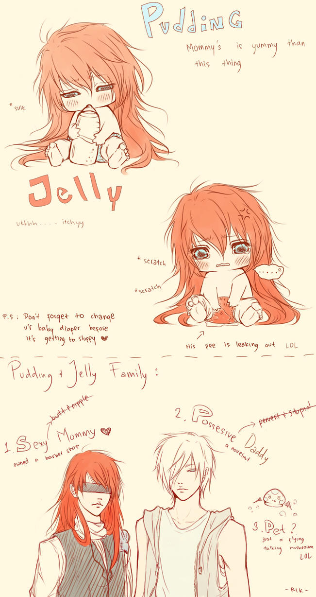CR: Pudding_Jelly by rikaida