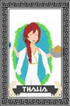Greek Gods Collab: Trixie Thalia by xPlushie-Ninjax