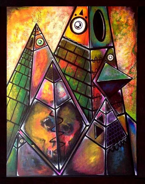 Pyramids by nteko