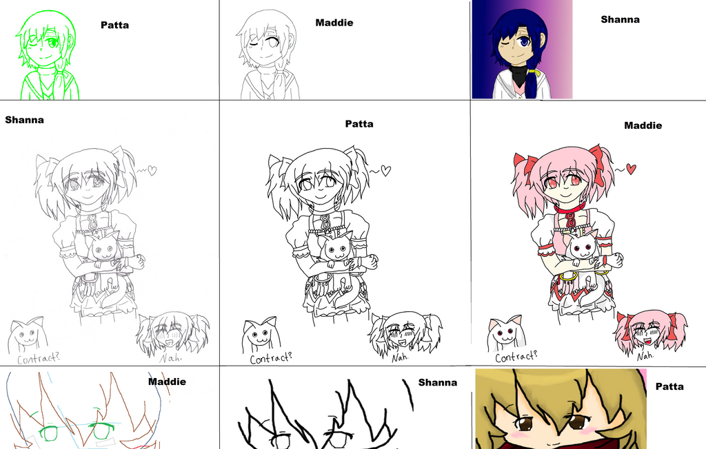 3 Way Drawing Meme by Runningstream990
