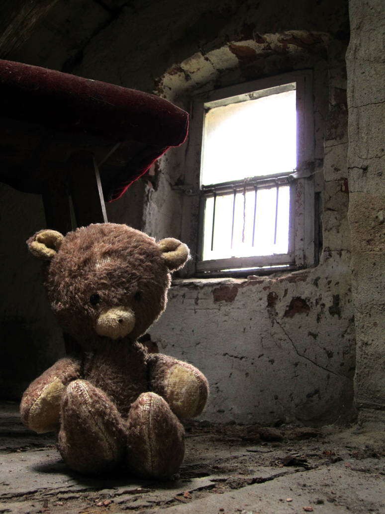 Teddy - used and abandoned