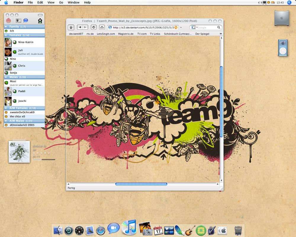 Desktop December '06 by IdiocyX